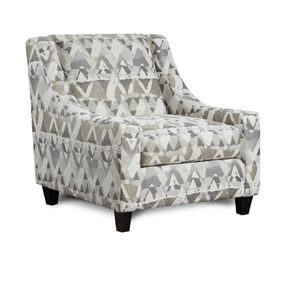 Mcnett Club Chair Upholstery: Mountain View Cement