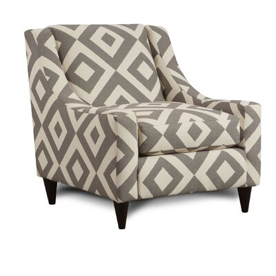 Hilyard Club Chair Upholstery: Square Charcoal
