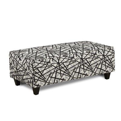 Mather Ottoman Upholstery : Gemma Zebra