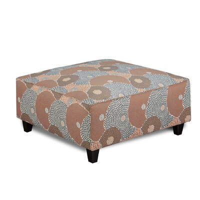 Matherly Cocktail Ottoman Upholstery : Makina Mango