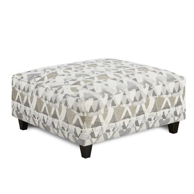 Matherly Cocktail Ottoman Upholstery : Mountain View Cement