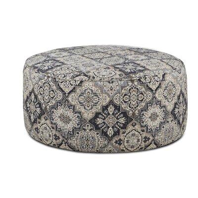 Karns Cocktail Ottoman Upholstery : Sambuca Cobalt