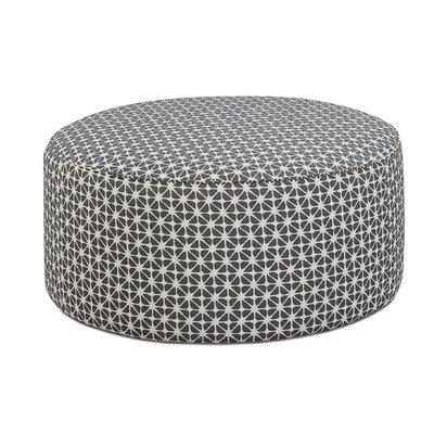 Karns Cocktail Ottoman Upholstery : Toni Carbon