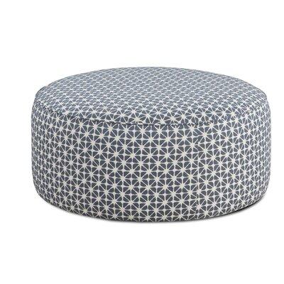 Karns Cocktail Ottoman Upholstery : Toni Marine