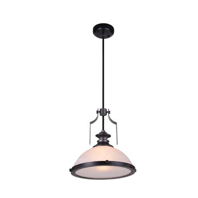 Detti 1-Light Mini Pendant Finish: Gun Metal
