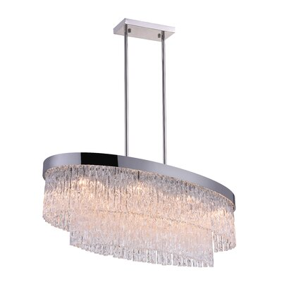 Carlotta 8-Light Crystal Chandelier
