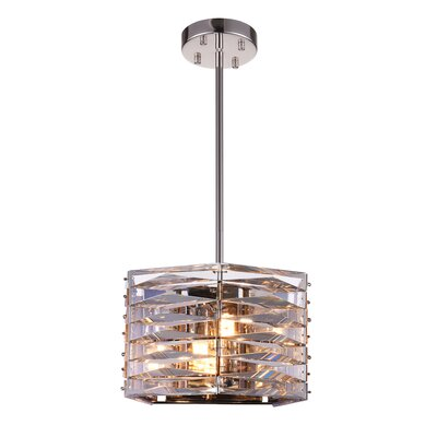 Squill 3-Light Drum Pendant