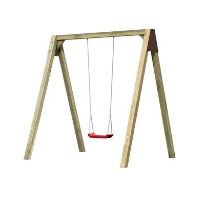 Schaukel-Set Bianca   Kinderzimmer > Spielzeuge > Schaukeln & Rutschen   Brown   Holz   Akubi