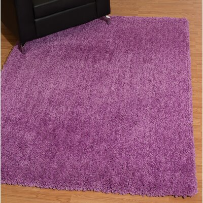 Mullenix Lilac Area Rug Rug Size: Rectangle 27 x 311