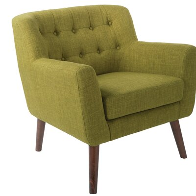 Demartino Armchair Upholstery: Green