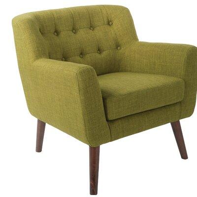 Demartino Armchair Upholstery: Green