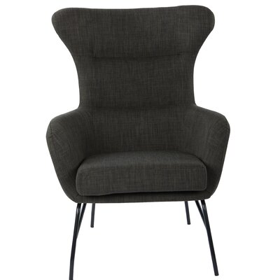 Diemer Armchair Upholstery: Asphalt