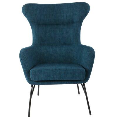 Diemer Armchair Upholstery: Azure