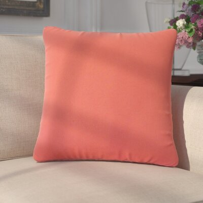 Dolla Solid Down Filled 100% Cotton Throw Pillow Size: 18 x 18