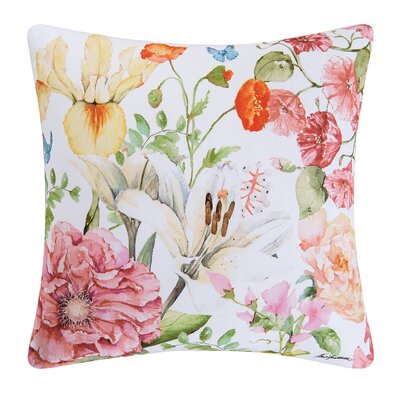 Orion Sunny Floral Indoor/Outdoor Throw Pillow