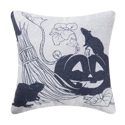 Fergerson Halloween Pumpkin Indoor/Outdoor Throw Pillow