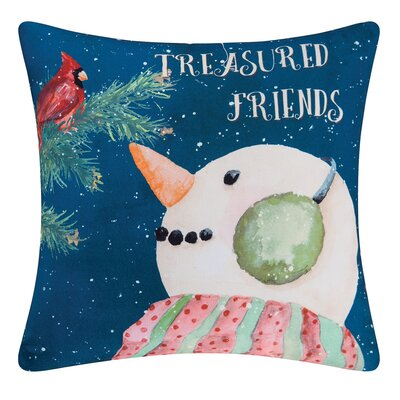 Fergerson Treasured Friend Indoor/Outdoor Throw Pillow