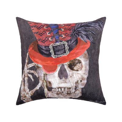 Fergerson Skullastic Indoor/Outdoor Throw Pillow