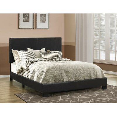 Oxford Upholstered Panel Bed Size: Queen