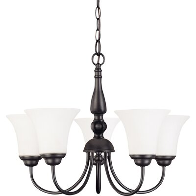 Keown 5-Light Candle-Style Chandelier