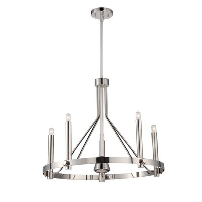 Amhold 6-Light Candle-Style Chandelier