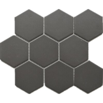 4 x 4 Porcelain Tile in Gray