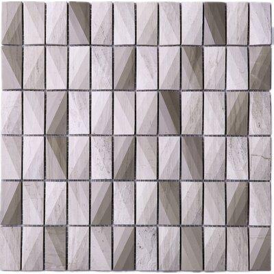 1 x 2 Mosaic Tile in Beige