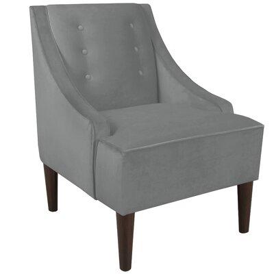 Ankiewicz Armchair Body Fabric: Velvet Steel Grey
