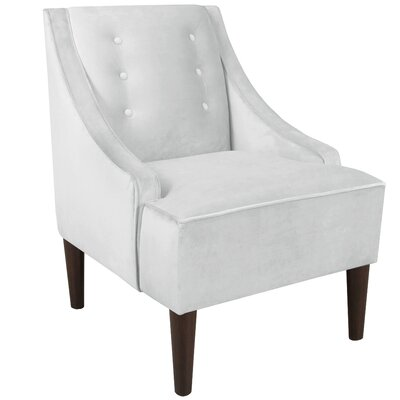 Ankiewicz Armchair Body Fabric: Premier White