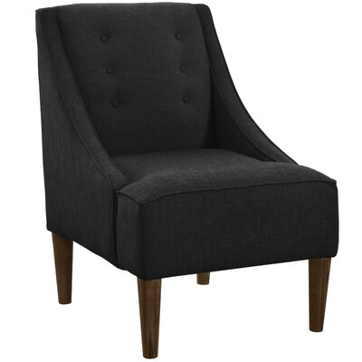 Ankiewicz Armchair Body Fabric: Linen Black