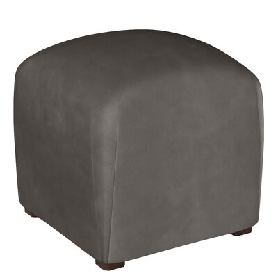 Mccaulley Cube Ottoman Body Fabric: Premier Charcoal