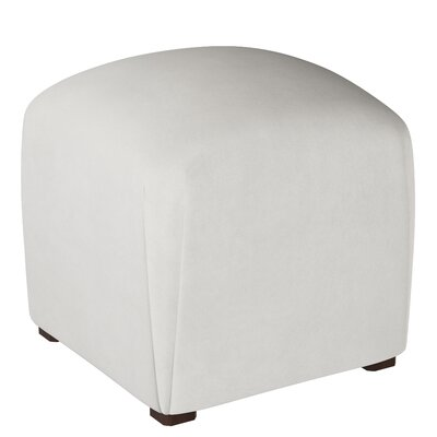 Mccaulley Cube Ottoman Body Fabric: Premier White