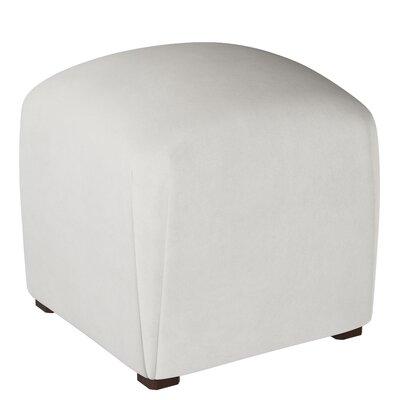 Mccaulley Cube Ottoman Body Fabric: Premier White