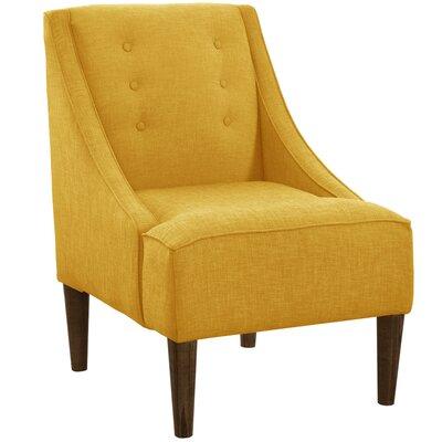 Ankiewicz Armchair Body Fabric: Linen French Yellow
