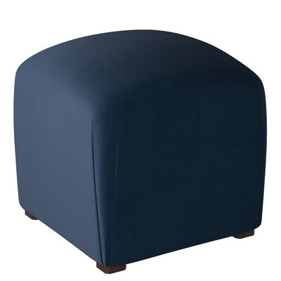 Mccaulley Cube Ottoman Body Fabric: Premier Navy