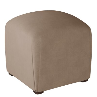 Mccaulley Cube Ottoman Body Fabric: Velvet Cocoa
