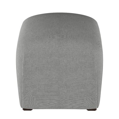 Mccaulley Cube Ottoman Body Fabric: Linen Gray
