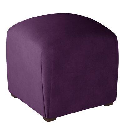 Mccaulley Cube Ottoman Body Fabric: Velvet Aubergine
