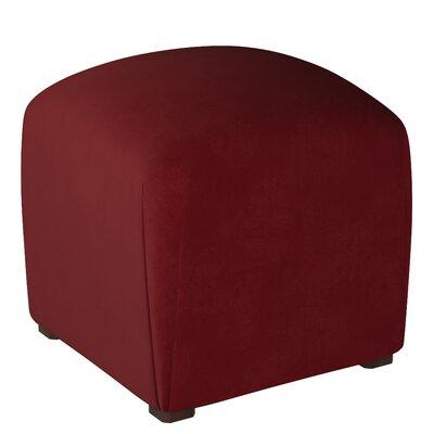 Mccaulley Cube Ottoman Body Fabric: Velvet Berry