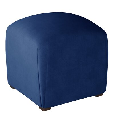 Mccaulley Cube Ottoman Body Fabric: Velvet Navy