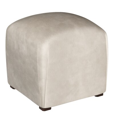 Mccaulley Cube Ottoman Body Fabric: Premier Platinum