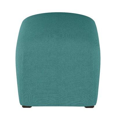 Mccaulley Cube Ottoman Body Fabric: Linen Laguna