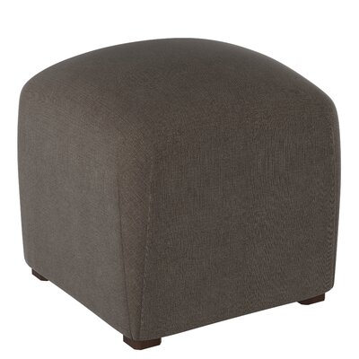 Mccaulley Cube Ottoman Body Fabric: Linen Slate