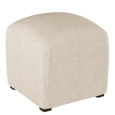 Mccaulley Cube Ottoman Body Fabric: Linen Talc
