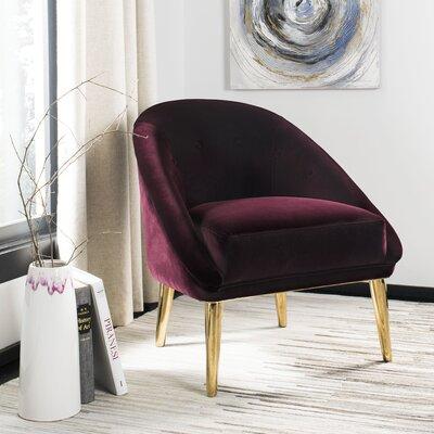 Folden Velvet Armchair