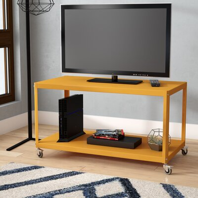 Taurus 36 TV Stand Color: Yellow Saffron