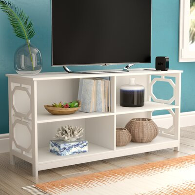 Country Walk 47 TV Stand Color: White