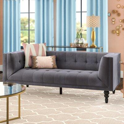 Caledonia Sofa Upholstery: Gray