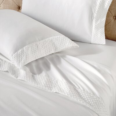 Eklund Microfiber Sheet Set Size: King, Color: White