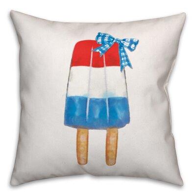 Huber Popsicle�Indoor/Outdoor Throw Pillow Location: Indoor